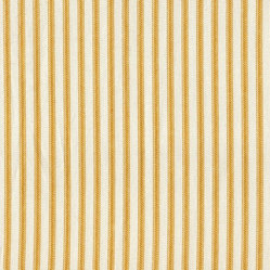 "22"" Bedskirt Tailored Yellow Ticking Stripe"