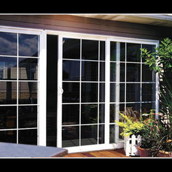 Vinyl Sliding Glass Doors - Photo Credit: XO Windows - Vinyl Sliding Glass Doors