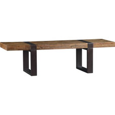Industrial Coffee Tables by Crate&Barrel