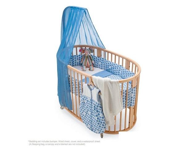 Stokke Sleepi Bedding Stokke Crib Fitted Sheet Blue