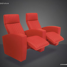 Contemporary Theater Seating by Cineak Custom Home Theater Seats