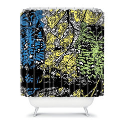 DENY Designs - DENY Designs Romi Vega Owl Shower Curtain Multicolor - 13356-SHOCUR - Shop for Shower Curtains from Hayneedle.com! You are sure to have a hoot with the DENY Designs Romi Vega Owl Shower Curtain hanging around. Our fine feathered friend is brought to life with exuberant color on this woven polyester shower curtain. This curtain makes showering fun again.About DENY DesignsDenver Colorado based DENY Designs is a modern home furnishings company that believes in doing things differently. DENY encourages customers to make a personal statement with personal images or by selecting from the extensive gallery. The coolest part is that each purchase gives the super talented artists part of the proceeds. That allows DENY to support art communities all over the world while also spreading the creative love! Each DENY piece is custom created as it's ordered instead of being held in a warehouse. A dye printing process is used to ensure colorfastness and durability that make these true heirloom pieces. From custom furniture pieces to textiles everything made is unique and distinctively DENY.