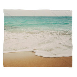 DENY Designs - Bree Madden Ombre Beach Fleece Throw Blanket - This DENY fleece throw blanket may be the softest blanket ever! And we're not being overly dramatic here. In addition to being incredibly snuggly with it's plush fleece material, it's maching washable with no image fading. Plus, it comes in three different sizes: 80x60 (big enough for two), 60x50 (the fan favorite) and the 40x30. With all of these great features, we've found the perfect fleece blanket and an original gift! Full color front with white back. Custom printed in the USA for every order.