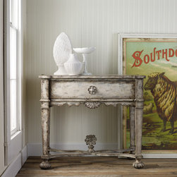 Hooker Furniture - Hooker Furniture Melange Arboretum Console Table 638-50050 - Come closer to Melange, and you will discover something unexpected, an eclectic blending of colors, textures and materials in a vibrant collection of one-of-a-kind artistic pieces.