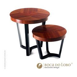 Boca do Lobo Sulivan Nesting Tables Soho Collection - Sulivan Nesting Tables Soho Collection