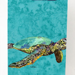 Caroline's Treasures - Loggerhead Turtle Michelob Ultra Koozies for slim cans 8659MUK - Loggerhead Turtle Michelob Ultra Koozies for slim cans 8659MUK Fits12 oz. slim cans for Michelob Ultra, Starbucks Refreshers, Heineken Light, Bud Lite Lime 12 oz., Dry Soda, Coors, Resin, Vitaminwater Energy, and Perrier Cans. Great collapsible koozie. Great to keep track of your beverage and add a bit of flair to a gathering. These are in full color artwork and washable in the washing machine. Design will not come off.