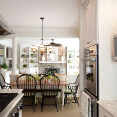Traditional Kitchen by Emerald Hill Interiors