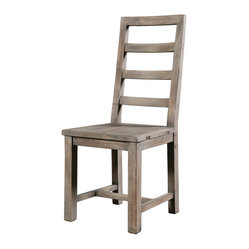 Post & Rail Dining Chair, Sundried Ash