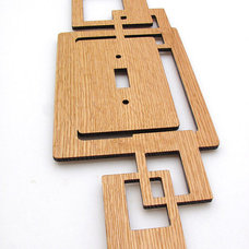 Modern Switch Plates And Outlet Covers by Etsy