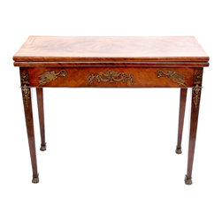 English Antique Mahogany Game Table - The HighBoy, Spalding Antiques & Interiors