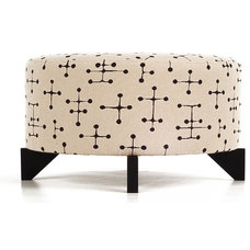 Modern Footstools And Ottomans by Yvonne Potter Interior Design