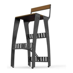 Pekota Barstool by Pekota Design - Features: