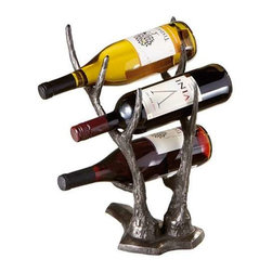 MIDWEST CBK - Deer Antler Wine Bottle Holder - Deer Antler Wine Bottle Holder. Shop home furnishings, decor, and accessories from Posh Urban Furnishings. Beautiful, stylish furniture and decor that will brighten your home instantly. Shop modern, traditional, vintage, and world designs.