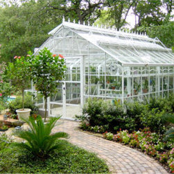 Traditional Classic Greenhouse  Design - Gothic Arch Greenhouses Inc