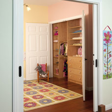Traditional Kids by Carol Spong Interior Design