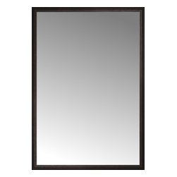 """Posters 2 Prints, LLC - 56"""" x 81"""" Tuscany Embossed Custom Framed Mirror - 56"""" x 81"""" Custom Framed Mirror made by Posters 2 Prints. Standard glass with unrivaled selection of crafted mirror frames.  Protected with category II safety backing to keep glass fragments together should the mirror be accidentally broken.  Safe arrival guaranteed.  Made in the United States of America"""
