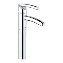 "Grohe - Grohe 32425000 Starlight Chrome Tenso Tenso Single Hole Bathroom - Product Features:Faucet body constructed of solid brassCovered under Grohe s limited lifetime warrantyGrohe faucets are exclusively engineered in GermanyFinishes will resist corrosion and tarnishing through everyday use - finish covered under lifetime warrantyStainless steel braided flexible suppliesSingle handle operationADA compliant - complies with the standards set froth by the Americans with Disabilities Act for bathroom faucetsLow lead compliant - meeting federal and stat regulations for lead contentWaterSense Certified product - using at least 30% less water than standard 2.2 GPM faucets, while still meeting strict performance guidelinesDesigned for use with standard U.S. plumbing connectionsProduct Technologies / Benefits:Starlight Finish: Continuously improving over the last 70 years GroheÂ's unique plating process has been refined to produce and immaculate shiny surface that is recognized as one of the best surface finishes the world over. Grohe plates sub layers of copper and/or nickel to ensure that a completely non-porous, immaculate surface awaits the chrome layer. This deep, even layered chrome surface creates a luminous and mirror like sheen.SilkMove Cartridge: The rich and smooth handling of our single lever faucets conveys pure quality. As you change the temperature from hot to cold, one ceramic disc glides effortlessly across the other with absolute precision. These cartridges are manufactured in a high-tech process and feature discs made from a space-proven ceramic alloy. The SilkMove cartridge is yet another example of design and technology fusing to bring you an enhanced water experience.Product Specifications:Overall Height: 14-5/8"" (measured from counter top to the highest part of the faucet)Spout Height: 8-5/8"""