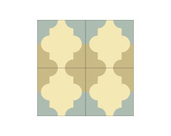 """""""Colonial"""" 8x8 Encaustic Cement Tiles - Rustico Tile and Stone. We offer wholesale Prices and global Shipping.  Contact us for a quote.  Make Every Space Count!"""