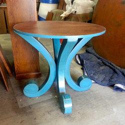 Wood Table Base -