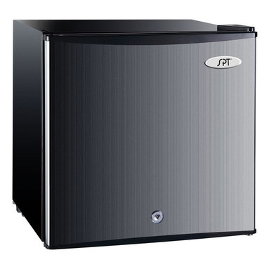 Sunpentown - Sunpentown UF-150SS 1.1cu.ft. Upright Freezer - Stainless Steel Multicolor - UF- - Shop for Freezers from Hayneedle.com! If the Sunpentown UF-150SS 1.1cu.ft. Upright Freezer - Stainless Steel were any colder it would include a staredown from Tommy Lee Jones during a Minnesota ice storm. That's pretty cold. But you'll get the refrigeration you need from 0 to 32 degrees with this space-saving freezer. The flush-back design tucks nicely away while the reversible door lets you locate it anywhere you need. A removable wire shelf and key-operated lock let you sercurely store your freezables. Take your pick of temps from the adjustable thermostat and you're ready to get cold.About SunpentownSunpentown International designs and manufactures small home appliances for convenient kitchen use. Sunpentown is the largest single producer of induction cooktops in the world controlling over 70% of the domestic market. Aiming to stay at the forefront of induction technology Sunpentown is proud to introduce a new line of uniquely competitive built-in and Wok induction cooktops to appeal to the increasingly global market of the 21st century.