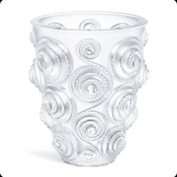 Lalique - Lalique Spirales Vase XXL Numbered Edition - Lalique Spirales Vase XXL Numbered Edition 10307100  -  Size: 10.53 Inches Long x 12.2 Inches Tall  -  Genuine Lalique Crystal  -  Fully Authorized U.S. Lalique Crystal Dealer  -  Created by the Lost Wax Technique  -  No Two Lalique Pieces Are Exactly the Same  -  Brand New in the Original Lalique Box  -  Every Lalique Piece is Signed by Hand, a Sign of its Authenticity and Quality  -  Created in Wingen on Moder-France  -  Lalique Crystal UPC Number: 090592928981