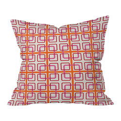 Caroline Okun Miami Knot Throw Pillow, 18x18x5