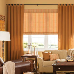 Bali Draperies - Classic Tab Drapery. Whites and off-whites,Neutrals and earth t - Classic Tab Drapery - Buy with Confidence, Get Free Samples Today!Bali Classic Tab Draperies brings a casual, yet custom tailored look to your windows. Gentle folds are formed when the tabs are shirred onto the rod. They're easy to install, with no additional hooks or clips needed. All fabrics are made with standard 200% fullness.