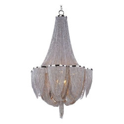 Maxim Lighting - Maxim Lighting 21465NKPN Chantilly 10-Light Chandelier In Polished Nickel - Features