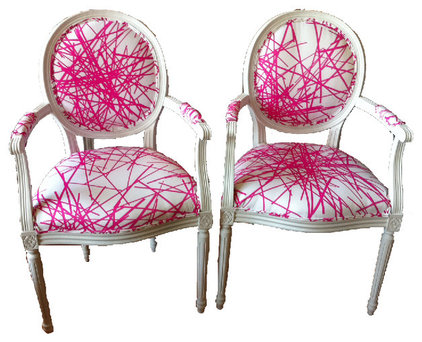 Eclectic Armchairs And Accent Chairs by Furbish Studio