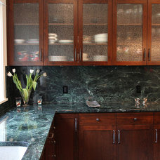 Kitchen Countertops by Vermont Verde Antique