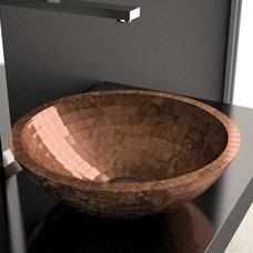Contemporary Bathroom Sinks by maestrobath