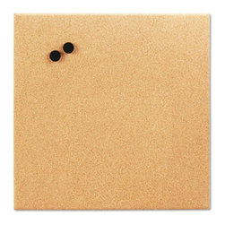 The Board Dudes - The Board Dudes 17 x 17 in. Magnetic Cork Board Multicolor - BDU19163 - Shop for Bulletin Boards from Hayneedle.com! Enjoy the unpretentious style of The Board Dudes 17 x 17 in. Magnetic Cork Board. With dual functionality this cork board offers the freedom to use magnets as well as push pins. A perfect combination of style and ease this magnetic board is an absolute must-have. This frameless board comprises a fine-grain cork surface that gives it a clean edge. The reusable board can be easily mounted for convenient usage.About United StationersDedicated to making life in the office more organized efficient and easier United Stationers offers a wide variety of storage and organizational solutions for any business setting. With premium products specifically designed with the modern office in mind we're certain you will find the solution you are looking for.From rolling file carts to stationary wall files every product in the United Stations line is designed with one simple goal: to improve office efficiency. In turn you will find increased productivity happier more organized employees and an office setting that simply runs better with the ultimate goal of increasing bottom line profits.