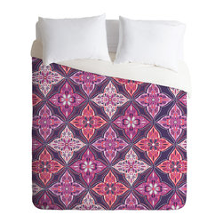 DENY Designs - Khristian A Howell Provencal Lavender 5 Duvet Cover - Turn your basic, boring down comforter into the super stylish focal point of your bedroom. Our Luxe Duvet is made from a heavy-weight luxurious woven polyester with a 50% cotton/50% polyester cream bottom. It also includes a hidden zipper with interior corner ties to secure your comforter. it's comfy, fade-resistant, and custom printed for each and every customer.