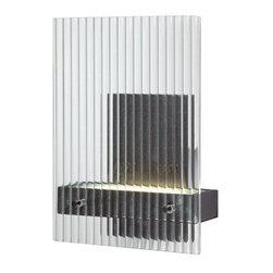 Nuvo Lighting - Bin 1-lt Wall Vanity - Bin 1-lt Wall Vanity