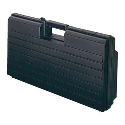 Stack-On - Stack-On Slim Line Tool Box - RB-19N - Shop for Tool Boxes and Chests from Hayneedle.com! What We Like About the Stack-On Slim Line Tool Box If you find traditional tool boxes are too bulky for your car boat office or home consider the Stack-On Slim Line Tool Box. Without sacrificing storage its streamlined design makes it compact enough for a variety of smaller spaces. It unlocks and opens to reveal a large storage space equipped with one small parts compartment. Discover just how convenient this durable and sleek tool box is.