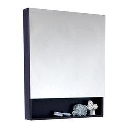 Fresca - Fresca Large Espresso Bathroom Medicine Cabinet w/ Small Bottom Shelf - Fresca Large Espresso Bathroom Medicine Cabinet w/ Small Bottom Shelf