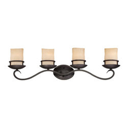 Designer Fountain - Lauderhill 4 Light Bath Bar - 4 Light Bath Bar