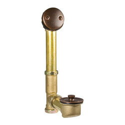 "Pfister - Pfister 018-310U Rustic Bronze  Brass 1-1/2"" 20 Gauge Bathtub Drain - Brass 1-1/2"" 20 Gauge Bathtub Drain with Lift and Turn Drain, and OverflowDesigned for use with standard US plumbing connectionsFully covered under Pfister s Pforever Lifetime WarrantyAbout PfisterFounded in 1910, Pfister (previously known as Price Pfister) is one of America's oldest and most experienced plumbing companies. As the first faucet manufacturer in the world to offer a lifetime warranty on their products, quality has always been the cornerstone of Pfister faucets. Brass bodies, ceramic disc valves, and lifetime PVD finishes name a few of the features you'll find in their product line. You will also find innovative designs. In the last 100 years, Pfister pioneered many of the faucet varieties that have helped to define the industry today. This kind of market presence has made Pfister one of the most trusted names in plumbing. Buy Pfister – you won't be disappointed."