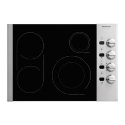 """Frigidaire - Professional Series FPEC3085KS 30"""" Smoothtop Electric Cooktop With 4 Elements  P - Frigidaire is the brand you have come to know and trust And for good reason Year after year Frigidaire has been the most reliable brand among leading appliance brands with the lowest number of service calls With Frigidaire you can be sure youll recei..."""