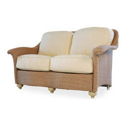Lloyd Flanders Oxford Love Seat - Available in 29 Custom Finishes. 31.5 H x 58.5 W x 35.5 D.
