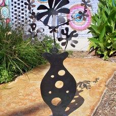 Eclectic Garden Sculptures by gardendeva.com