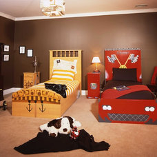 Eclectic Kids Beds by Finished by Design