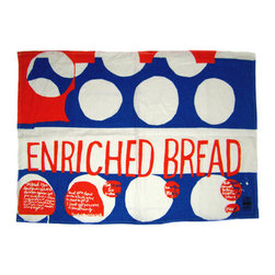 Sister Corita Kent Enriched Bread Tea Towel - This tea towel from Sister Corita Kent will add art and color to your kitchen. It's a limited edition, so snap yours up now.