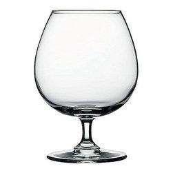 Hospitality Glass - 5.75H x 2.5T x 3B Enoteca 18 oz Brandy Wine Glasses 24 Ct - Enoteca 18 oz Brandy