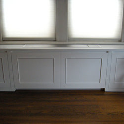 Prewar AC/Radiator Cover - - Custom removable panel