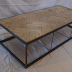 Holbrook Coffee Table Traditional Coffee Tables By