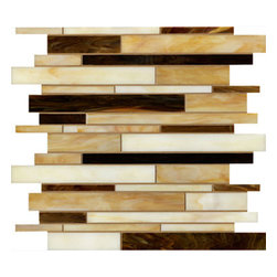 Pistachio Whip Linear Glass Mosaic Tile - Pistachio Whip Linear Glass Mosaic Tile are designed and manufactured for the discerning designer and homeowner. When it comes to adding distinction to your home or design project, choose from our great selection of glass tile, glass mosaics, subway glass tile, vertical glass tile, glass and stainless blends and our linear glass tile. We provide the highest quality glass tile products for all your bathroom and kitchen remodeling needs and all for incredible prices. Visit the links below to find the perfect tile for you and your home!