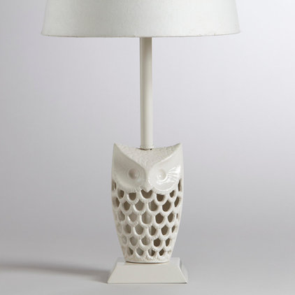 eclectic table lamps by World Market