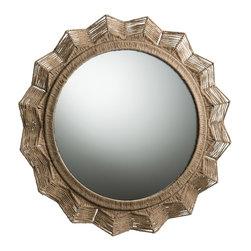 Arteriors - Arteriors DK9949 Seasal Mirror - Arteriors DK9949 Seasal Mirror made with Natural Jute/Plain Mirror.