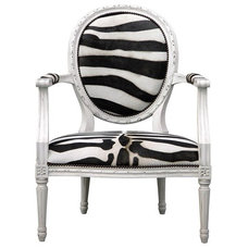 Eclectic Accent Chairs by Zinc Door
